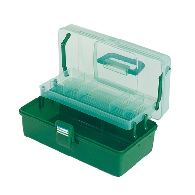Shakespeare Deluxe Tackle Box  - 1 Tray