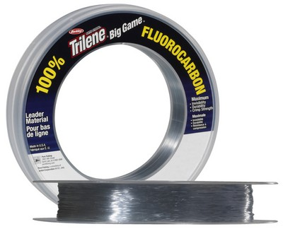 Berkley Big Game Fluorocarbon Leader Line Clear - 20lbs - 90m