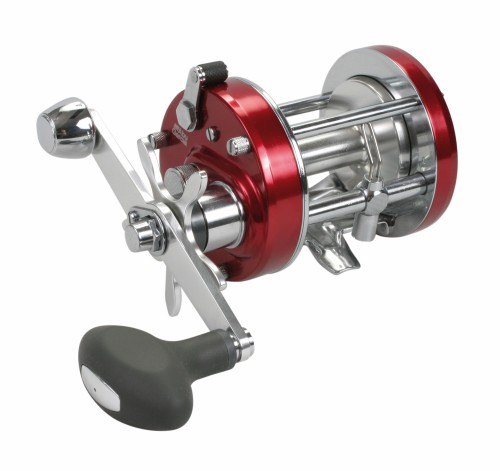 Abu Garcia Abu Elite 7500cs Reel (level Wind) - Black/red/brass
