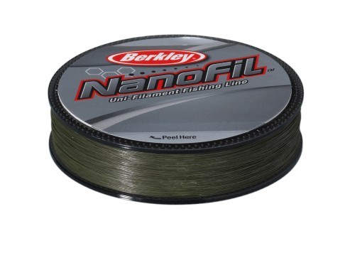 Berkley Nanofil Enf12520-22 0.20mm Lo Vis Fishing Line 125 M - Green