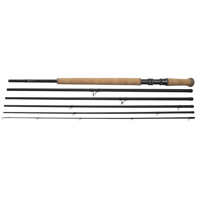 Shakespeare Oracle Exp Salmon Fly Rod 8# 12.9 ft - Black