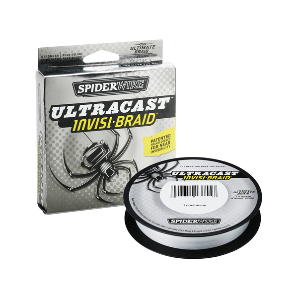 Spiderwire Ultracast Invisi-Braid - Breaking Strain: 10 lb (.17 mm). Length: 300 yd